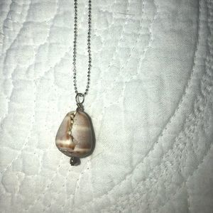 Seashell Silver Necklace from Hawaii
